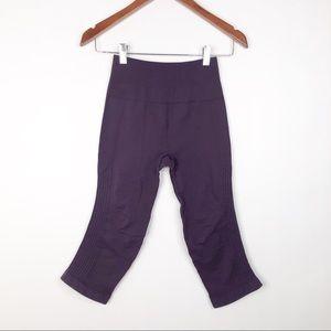 lululemon athletica Pants - Lululemon Flow and Go Purple Crops
